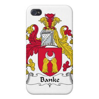 Escudo de la familia de Banke iPhone 4 Fundas