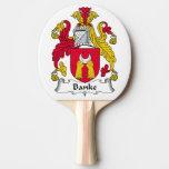 Escudo de la familia de Banke Pala De Ping Pong