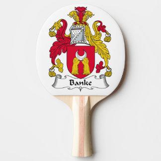 Escudo de la familia de Banke Pala De Tenis De Mesa