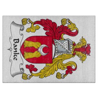 Escudo de la familia de Banke Tablas Para Cortar