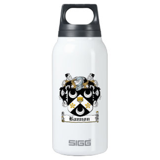 Escudo de la familia de Bannon Botella Isotérmica De Agua