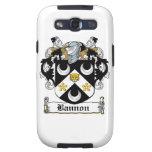 Escudo de la familia de Bannon Samsung Galaxy S3 Cobertura