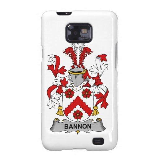 Escudo de la familia de Bannon Samsung Galaxy S2 Funda