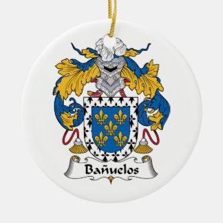 Escudo de la familia de Banuelos Ornamente De Reyes
