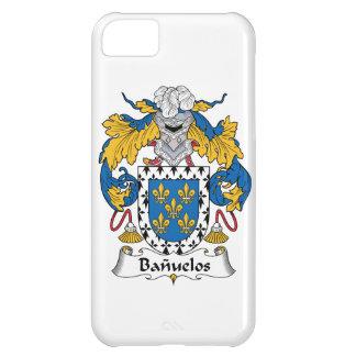Escudo de la familia de Banuelos Funda Para iPhone 5C