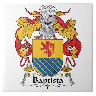 Escudo de la familia de Baptista Azulejos Ceramicos