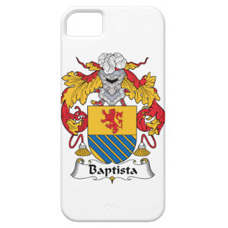 Escudo de la familia de Baptista iPhone 5 Case-Mate Funda