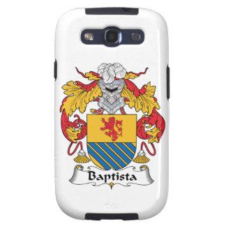Escudo de la familia de Baptista Galaxy S3 Funda