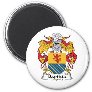 Escudo de la familia de Baptista Imán Para Frigorífico