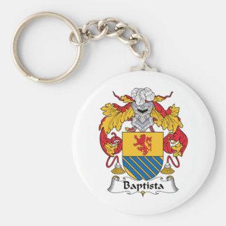 Escudo de la familia de Baptista Llaveros