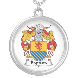 Escudo de la familia de Baptista Pendientes