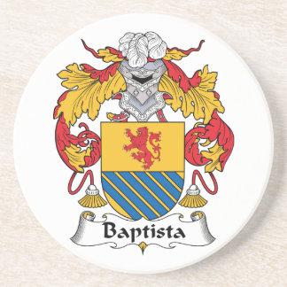 Escudo de la familia de Baptista Posavasos Cerveza