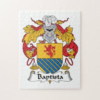 Escudo de la familia de Baptista Rompecabeza