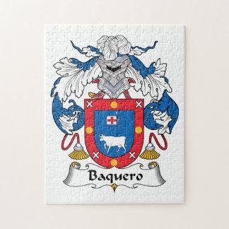 Escudo de la familia de Baquero Puzzle Con Fotos