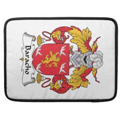 Escudo de la familia de Baracho Funda Macbook Pro