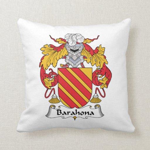 Escudo de la familia de Barahona Almohadas