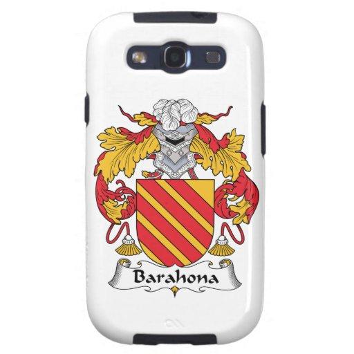 Escudo de la familia de Barahona Galaxy SIII Cárcasas