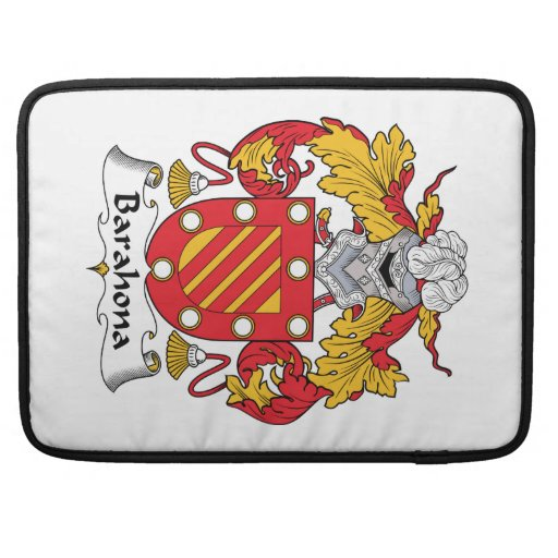 Escudo de la familia de Barahona Funda Para Macbooks