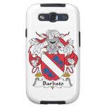 Escudo de la familia de Barbato Samsung Galaxy S3 Coberturas
