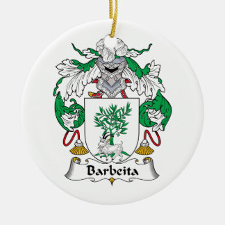 Escudo de la familia de Barbeita Ornato