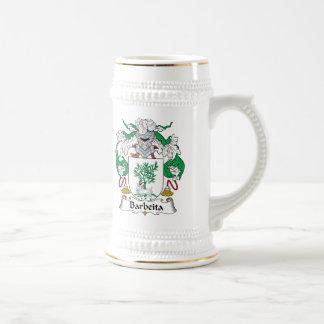 Escudo de la familia de Barbeita Taza De Café