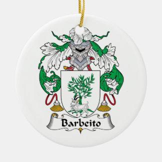Escudo de la familia de Barbeito Adorno De Reyes