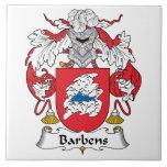 Escudo de la familia de Barbens Azulejos Ceramicos