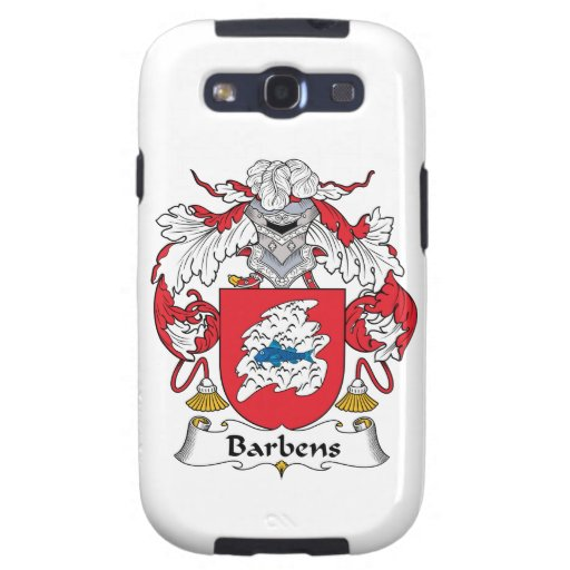 Escudo de la familia de Barbens Galaxy S3 Carcasa