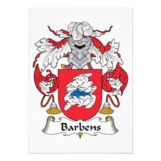 Escudo de la familia de Barbens Anuncios Personalizados