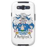 Escudo de la familia de Barberena Galaxy S3 Cárcasas