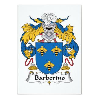 Escudo de la familia de Barberino Invitaciones Personales