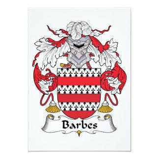 Escudo de la familia de Barbes Anuncio Personalizado