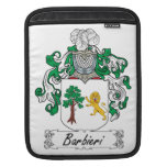 Escudo de la familia de Barbieri Funda Para iPads