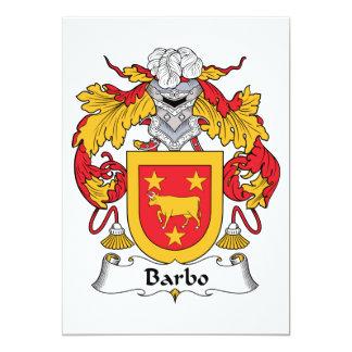 Escudo de la familia de Barbo Comunicado Personal