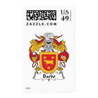 Escudo de la familia de Barbo Envio