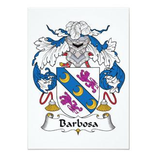 Escudo de la familia de Barbosa Comunicados