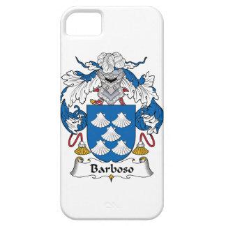 Escudo de la familia de Barboso iPhone 5 Case-Mate Protector