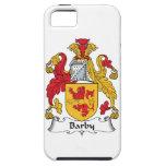 Escudo de la familia de Barby iPhone 5 Coberturas