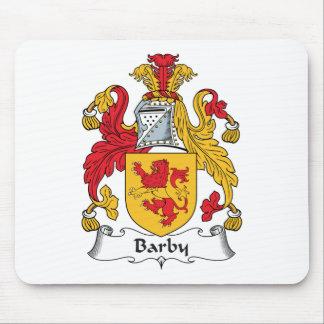 Escudo de la familia de Barby Tapetes De Ratón