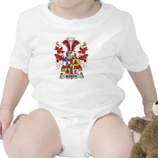 Escudo de la familia de Barck Trajes De Bebé