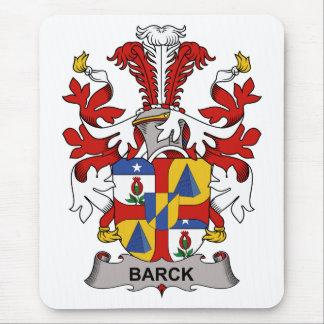 Escudo de la familia de Barck Tapetes De Ratón