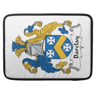 Escudo de la familia de Barclay Fundas Para Macbook Pro