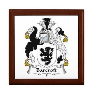 Escudo de la familia de Barcroft Caja De Recuerdo
