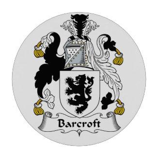 Escudo de la familia de Barcroft Juego De Fichas De Póquer