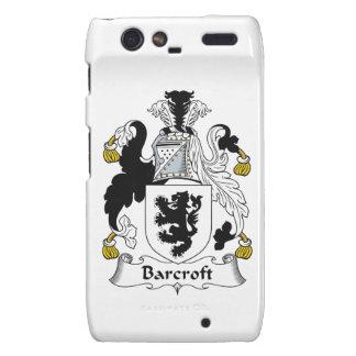 Escudo de la familia de Barcroft Droid RAZR Carcasas