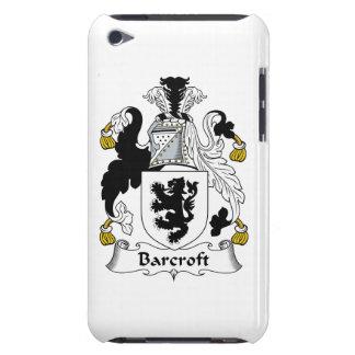Escudo de la familia de Barcroft Barely There iPod Carcasa