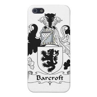 Escudo de la familia de Barcroft iPhone 5 Fundas