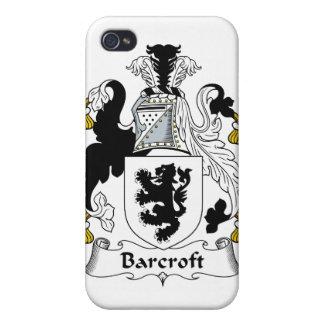 Escudo de la familia de Barcroft iPhone 4 Carcasa