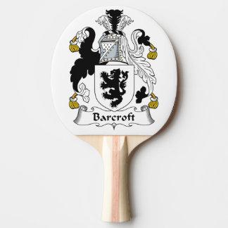 Escudo de la familia de Barcroft Pala De Ping Pong