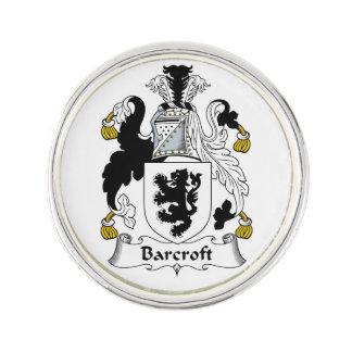 Escudo de la familia de Barcroft Pin